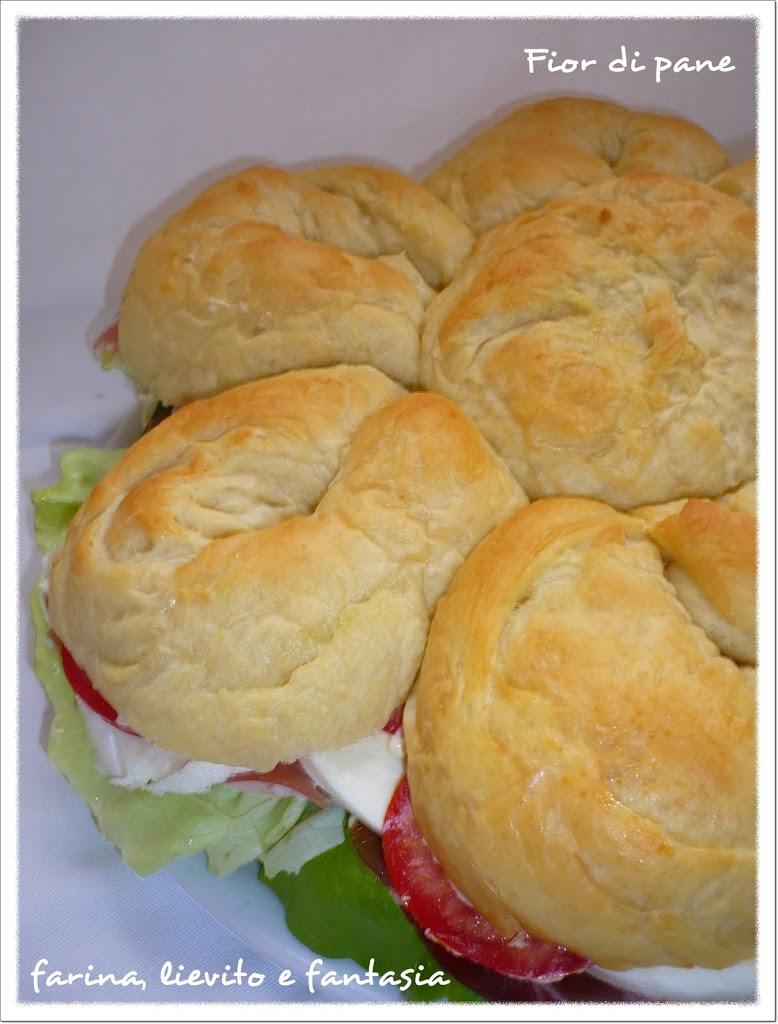 Fior di pane blog farina lievito e fantasia - Torte salate decorate ...