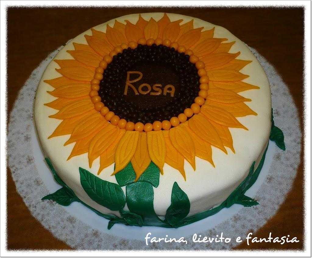 Torta girasole farina lievito e fantasia - Torte salate decorate ...