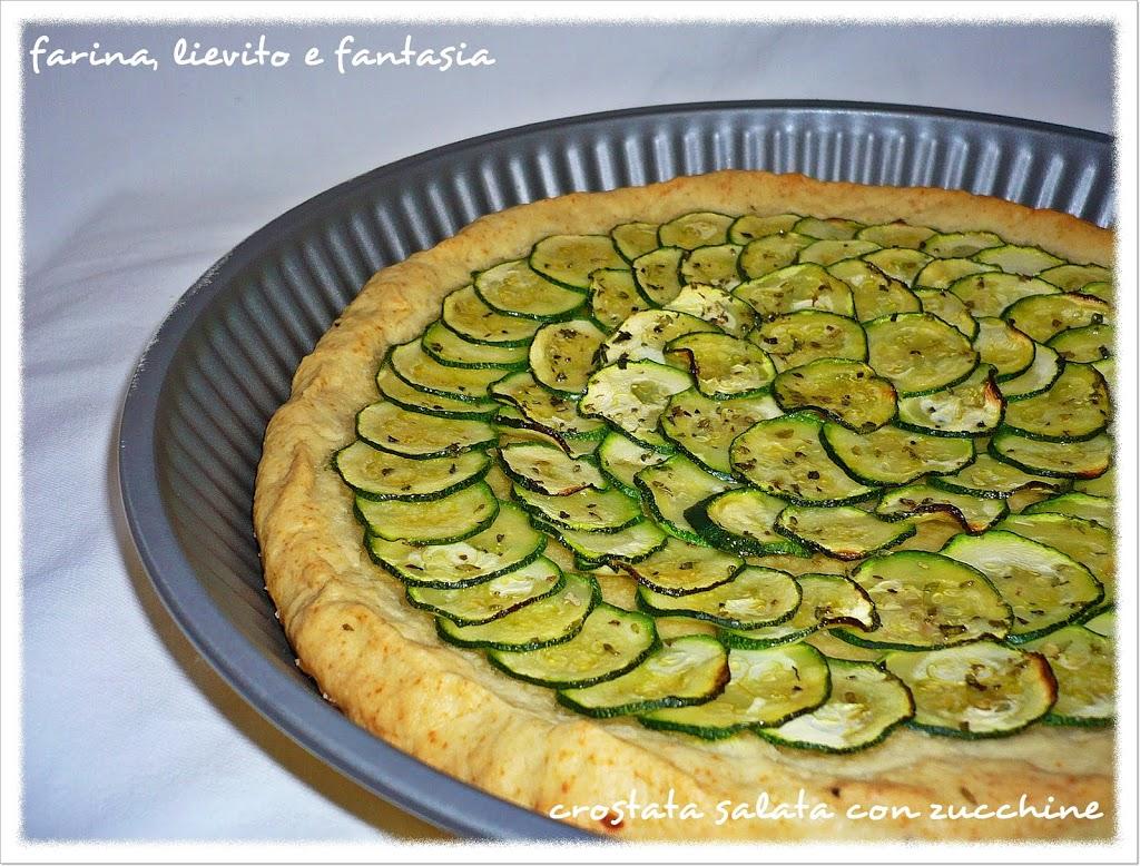 Crostate salate farina lievito e fantasia - Torte salate decorate ...