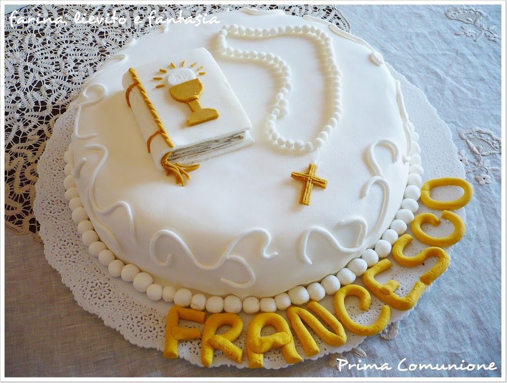Preferenza Torta: Prima Comunione | Farina lievito e fantasia GU34