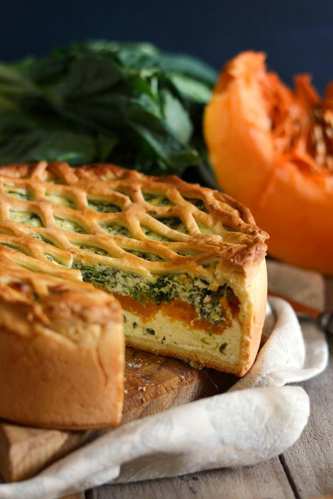 Torta salata d'autunno