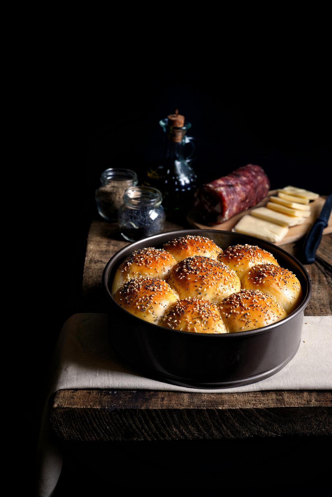 Danubio salato farina lievito e fantasia - Torte salate decorate ...