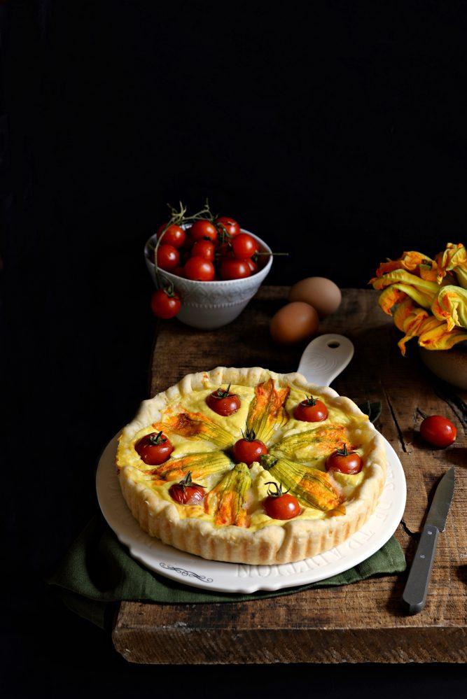Torte salate prodotti da forno archivi farina lievito e - Torte salate decorate ...